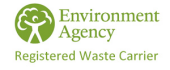 Enviroment Agency  registered waste carrier